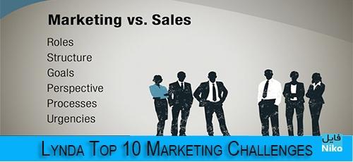 template 6 - دانلود Lynda Top 10 Marketing Challenges فیلم آموزشی آشنایی با 10 چالش برتر بازاریابی