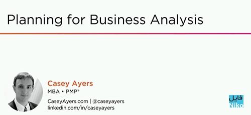 Untitled 4 1 - دانلود Pluralsight Planning for Business Analysis فیلم آموزشی برنامه ریزی برای تحلیل کسب و کار