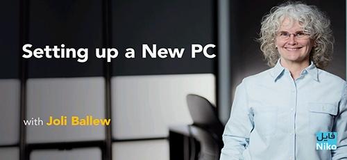 Untitled 4 - دانلود Lynda Setting Up a New PC فیلم آموزشی راه اندازی یک کامپیوتر جدید