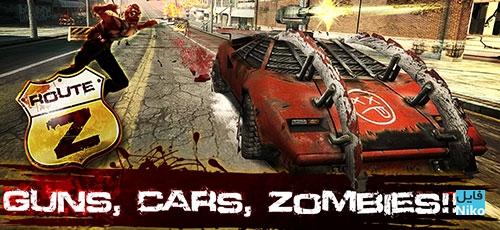 Guns Cars Zombies - دانلود Guns, Cars, Zombies v1.4.5  بازی اکشن بی نظیر سلاح ها، ماشینها، زامبی ها اندروید همراه با دیتا