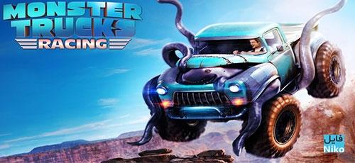 Monster Truck Racing - دانلود Monster Truck Racing 2.3.4  بازی مسابقه ماشین هیولاها اندروید همراه دیتا + نسخه مود