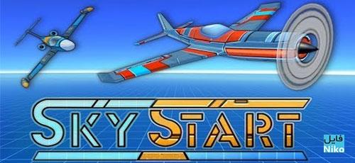 "SkyStart Racing - دانلود Sky Start Racing 1.24.7   بازی مسابقات هوایی ""خلبانان آسمان"" اندرویدهمراه با دیتا"