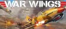 War Wings 222x100 - دانلود War Wings v3.0.41 کنترل هواپیماهای جنگی در خلال جنگ جهانی دوم همراه دیتا