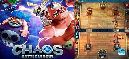 """Chaos Battle League - دانلود Chaos Battle League v1.5.1   بازی استراتژی """"آشفتگی میدان نبرد"""" اندروید همراه با دیتا"""