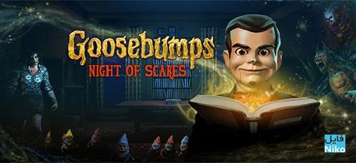 Goosebumps Night of Scares Full - دانلود Goosebumps Night of Scares Full 1.1.5   بازی شب وحشت اندروید همراه با دیتا