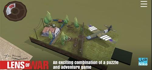 Lens of War - دانلود Lens of War 1.0.0   بازی پازل و متفاوت لنز جنگ مخصوص اندروید همراه با دیتا