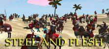 Steel And Flesh 222x100 - دانلود Steel And Flesh 1.6  بازی اکشن قرون وسطی اندروید همراه با دیتا