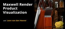 Untitled 2 13 222x100 - دانلود Lynda Maxwell Render for Product Visualization فیلم آموزشی Maxwell Render برای شبیه سازی