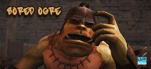"Bored Ogre - دانلود Bored Ogre v1.0   بازی پازل متفاوت ""غولِ خسته"" اندروید همراه با دیتا + نسخه مود"
