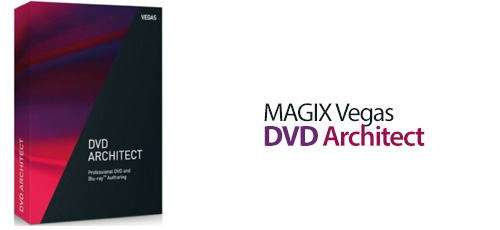MAGIX Vegas DVD - دانلود MAGIX Vegas DVD Architect 7.0.0 Build 67 طراحی منوی DVD