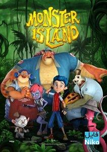 Monster Island 2017 Poster 212x300 - دانلود انیمیشن Monster Island 2017 (جزیره هیولا) با دوبله فارسی