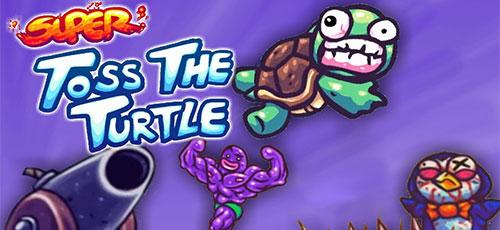 Super Toss The Turtle - دانلود Super Toss The Turtle v1.171.30   بازی اکشن پرتاب لاک پشت اندروید همراه با دیتا + نسخه مود