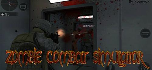 Zombie Combat Simulator - دانلود Zombie Combat Simulator v1.0.5   بازی اکشن نبرد با زامبی ها اندروید همراه با دیتا + نسخه مود