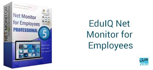 EduIQ Net Monitor for Employees - دانلود EduIQ Net Monitor for Employees Professional 5.5.12 مانیتورینگ شبکه و کلاس درس