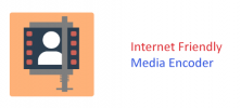 Internet Friendly Media Encoder 222x100 - دانلود Internet Friendly Media Encoder 7.7.0.0 فشرده‌ سازی فیلم ها