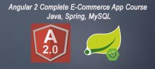 ang2 222x100 - دانلود Angular 2 Complete E-Commerce App Course - Java, Spring, MySQL آموزش کامل آنگولار 2 - جاوا، اسپرینگ و مای اس کیو ال