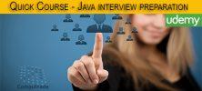 template 2 222x100 - دانلود Udemy Quick Course - Java interview preparation فیلم آموزشی مهارت های مورد نیاز در مصاحبه شغلی برنامه نویس جاوا