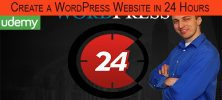 template 3 222x100 - دانلود Udemy Create a WordPress Website in 24 Hours or Less Guaranteed فیلم آموزشی ایجاد وب سایت WordPress در 24 ساعت