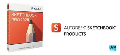Udemy 1 - دانلود Autodesk SketchBook Pro 2020 v8.6.6 نقاشی و طراحی پیشرفته