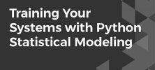 tys 222x100 - دانلود Packt Training Your Systems with Python Statistical Modeling آموزش سیستم های مدلسازی آماری با پایتون