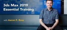 Lynda 3ds Max 2019 Essential Training 222x100 - دانلود Lynda 3ds Max 2019 Essential Training آموزش تری دی اس مکس 2019