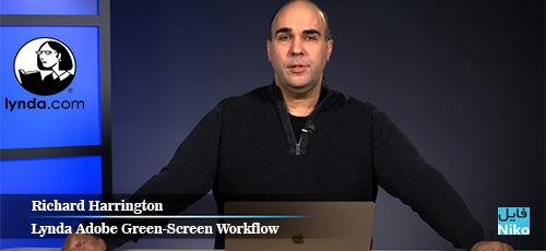 Lynda Adobe Green Screen Workflow 1 - دانلود Lynda Adobe Green-Screen Workflow آموزش کار با پرده سبز در نرم افزارهای ادوبی