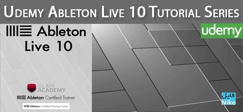 Udemy Ableton Live 10 Tutorial Series - دانلود Udemy Ableton Live 10 Tutorial Series آموزش نرم افزار ابلتون لایو 10
