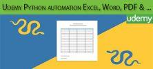Udemy Python automation Excel Word PDF Web Scraping and more 222x100 - دانلود Udemy Python automation Excel, Word, PDF, Web Scraping and more آموزش اتوماسیون پایتون برای اکسل، ورد، پی دی اف و...