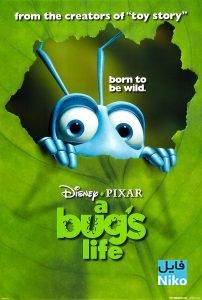 A Bugs Life 1998 202x300 - دانلود انیمشین A Bugs Life 1998  با زیرنویس فارسی