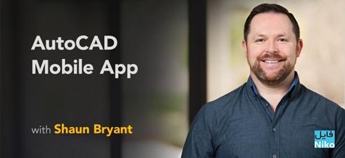 Lynda AutoCAD Mobile App - دانلود Lynda AutoCAD Mobile App آموزش اپ موبایل اتوکد