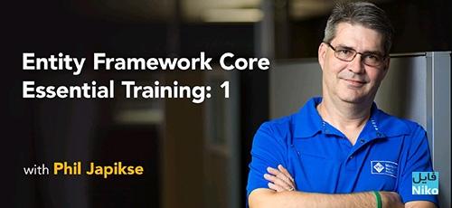 Lynda Entity Framework Core Essential Training - دانلود Lynda Entity Framework Core Essential Training آموزش انتیتی فریم ورک کور