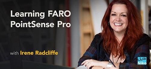 Lynda Learning FARO PointSense Pro - دانلود Lynda Learning FARO PointSense Pro آموزش حرفه ای کار با فارو پوینت سنس