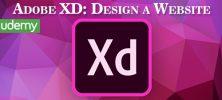 Udemy Adobe XD Design a Website 222x100 - دانلود Udemy Adobe XD: Design a Website آموزش طراحی وب سایت با ادوبی ایکس دی