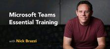 Lynda Microsoft Teams Essential Training 222x100 - دانلود Lynda Microsoft Teams Essential Training آموزش مایکروسافت تیم