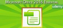Udemy Microsoft Office 2016 Essential 1 222x100 - دانلود Udemy Microsoft Office 2016 Essential آموزش مایکروسافت آفیس 2016