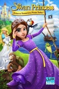 دانلود انیمیشن The Swan Princess: Princess Tomorrow Pirate Today! 2016 با دوبله فارسی انیمیشن مالتی مدیا