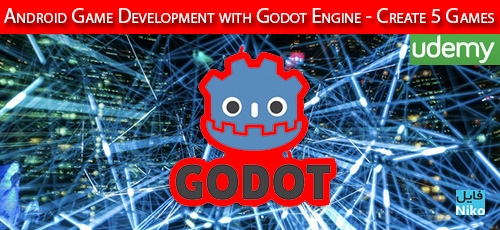 Development with Godot Engine Create 5 Games 1 - دانلود Udemy Android Game Development with Godot Engine - Create 5 Games آموزش توسعه بازی با موتور گودو