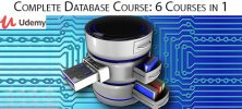 Udemy Complete Database Course 6 Courses in 1 222x100 - دانلود Udemy Complete Database Course: 6 Courses in 1 آموزش کامل طراحی پایگاه داده: 6 درس در 1