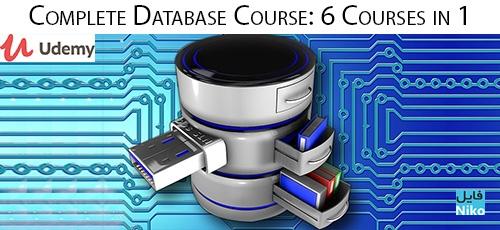 Udemy Complete Database Course 6 Courses in 1 - دانلود Udemy Complete Database Course: 6 Courses in 1 آموزش کامل طراحی پایگاه داده: 6 درس در 1