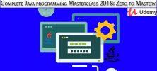 Udemy Complete Java programming Masterclass 2018 Zero to Mastery 222x100 - دانلود !Udemy Complete Java programming Masterclass 2018: Zero to Mastery آموزش کامل برنامه نویسی جاوا