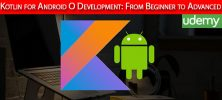 Udemy Kotlin for Android O Development From Beginner to Advanced 222x100 - دانلود Udemy Kotlin for Android O Development: From Beginner to Advanced آموزش مقدماتی تا پیشرفته کوتلین برای توسعه اندروید اُ