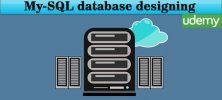 Udemy My SQL database designing 222x100 - دانلود Udemy My-SQL database designing آموزش طراحی پایگاه داده های مای اس کیو ال
