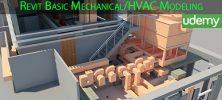 Udemy Revit Basic Mechanical HVAC Modeling 222x100 - دانلود Udemy Revit Basic Mechanical/HVAC Modeling آموزش مقدماتی مدلسازی Mechanical/HVAC در رویت