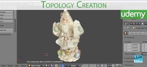Udemy Topology Creation - دانلود Udemy Topology Creation آموزش ساخت فایل های سه بعدی