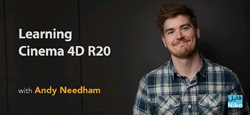Lynda Learning Cinema 4D R20 - دانلود Lynda Learning Cinema 4D R20 آموزش نرم افزار سینما فوردی آر20