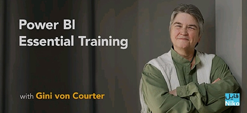 Lynda Power BI Essential Training - دانلود Lynda Power BI Essential Training آموزش نرم افزار پاور بی آی