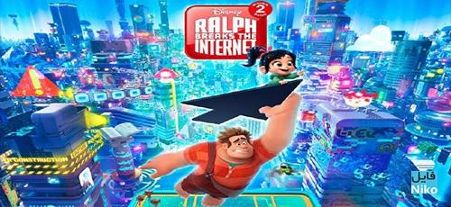 2 85 - دانلود انیمیشن Ralph Breaks the Internet 2018 با دوبله فارسی