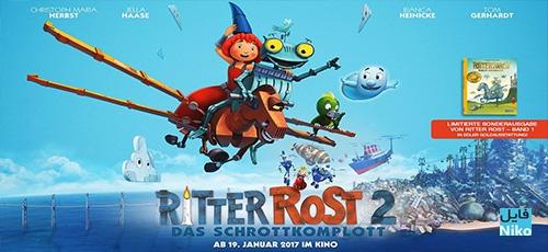 2 89 - دانلود انیمیشن Ritter Rost 2: Das Schrottkomplott 2017 با دوبله فارسی