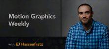 Lynda Motion Graphics Weekly 222x100 - دانلود Lynda Motion Graphics Weekly آموزش نکات و ترفندهای موشن گرافیک