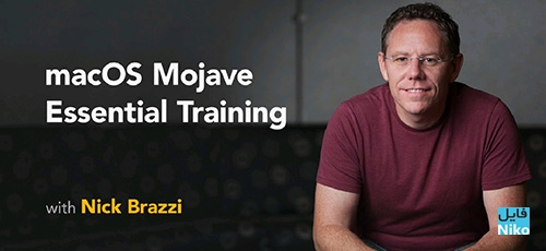 Lynda macOS Mojave Essential Training - دانلود Lynda macOS Mojave Essential Training آموزش سیستم عامل مک آو اس موهاوی